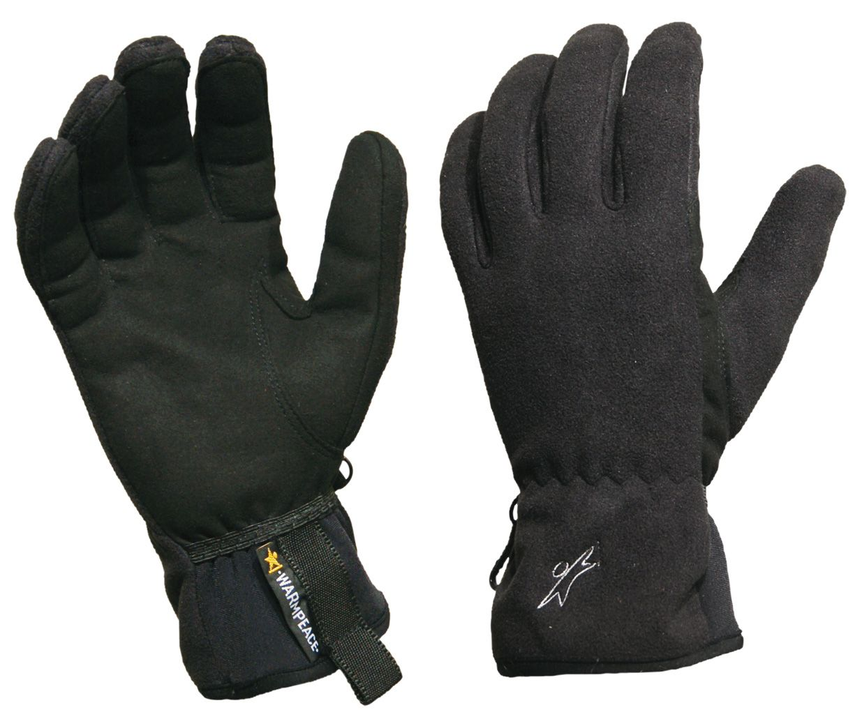 Outdoorix - Warmpeace Finstorm black rukavice