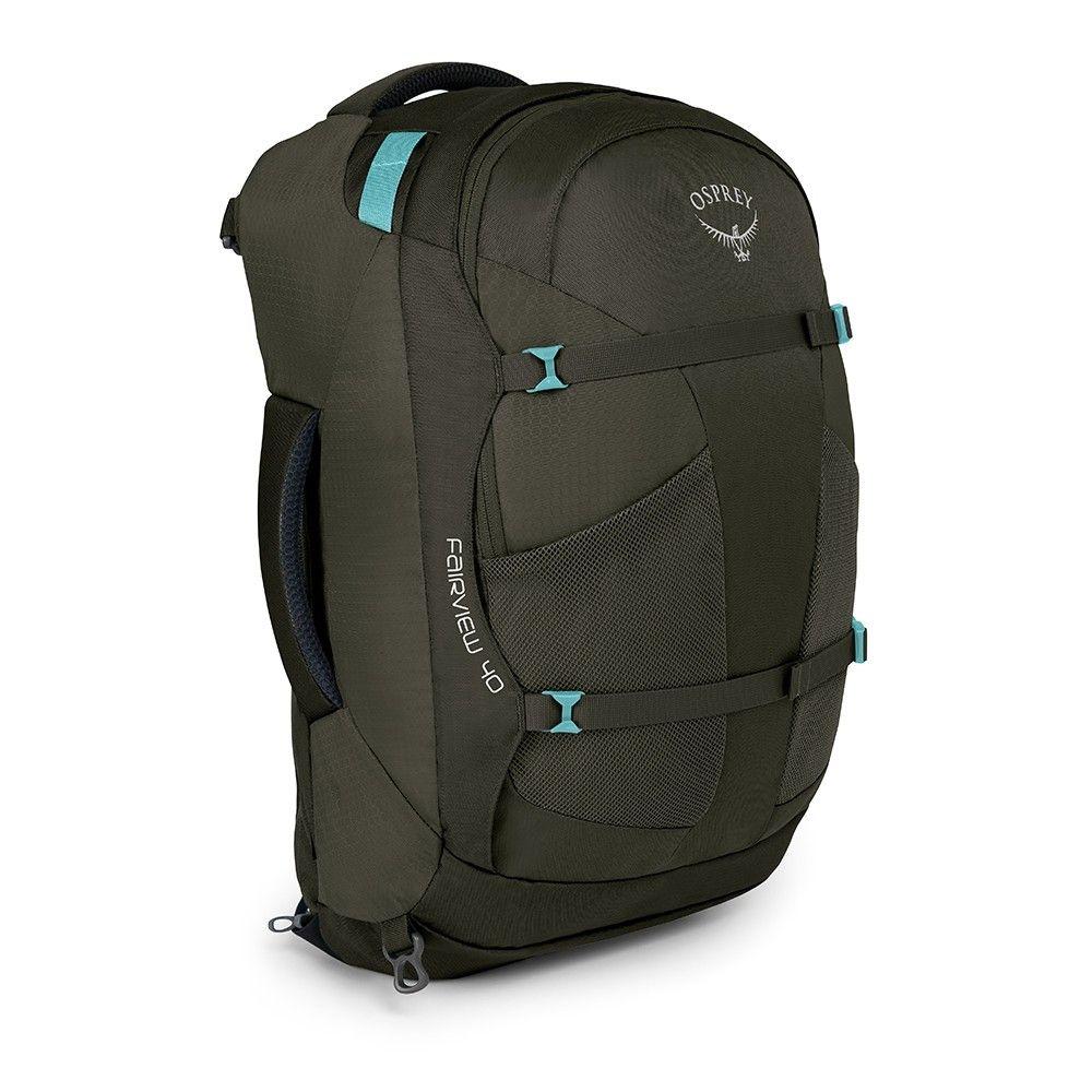 Outdoorix - Osprey Fairview 40 Misty Grey dámské zavazadlo na pracovní cesty