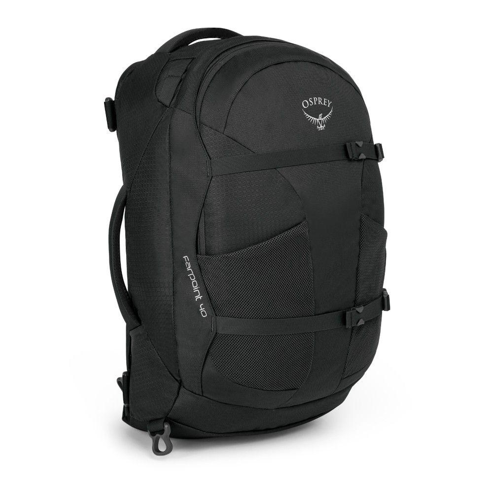 Outdoorix - Osprey Farpoint 40 Volcanic Grey pánské zavazadlo na pracovní cesty