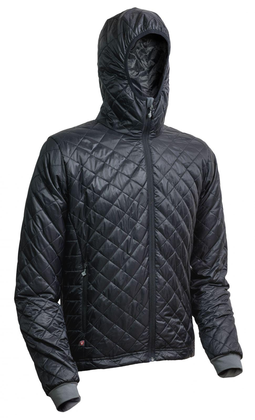 Outdoorix - Warmpeace Spirit black / black pánská bunda zateplená PrimaLoftem