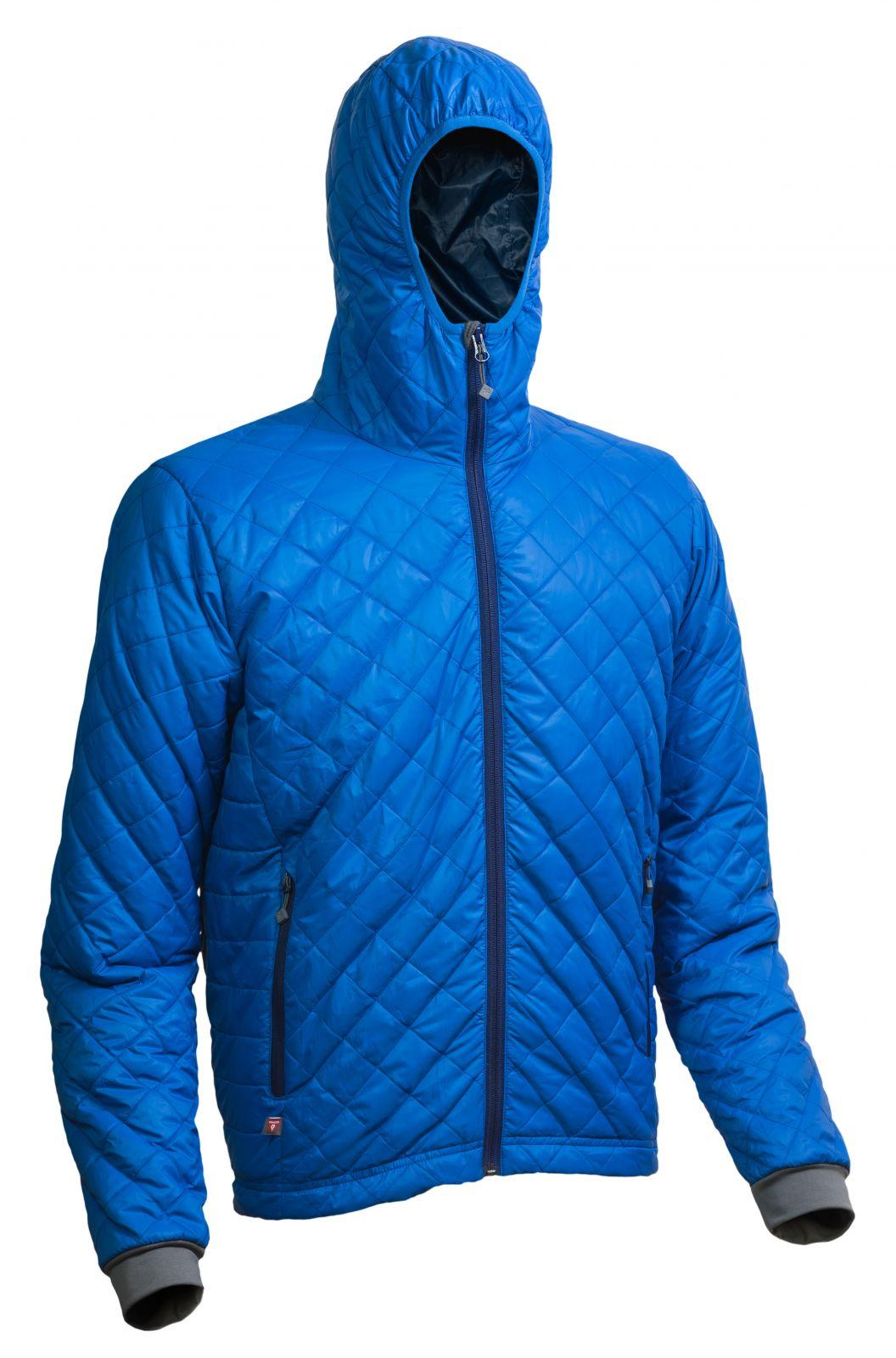 Outdoorix - Warmpeace Spirit royal blue / navy pánská bunda zateplená PrimaLoftem