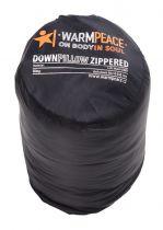Outdoorix - Warmpeace Péřový polštářek ZIP black