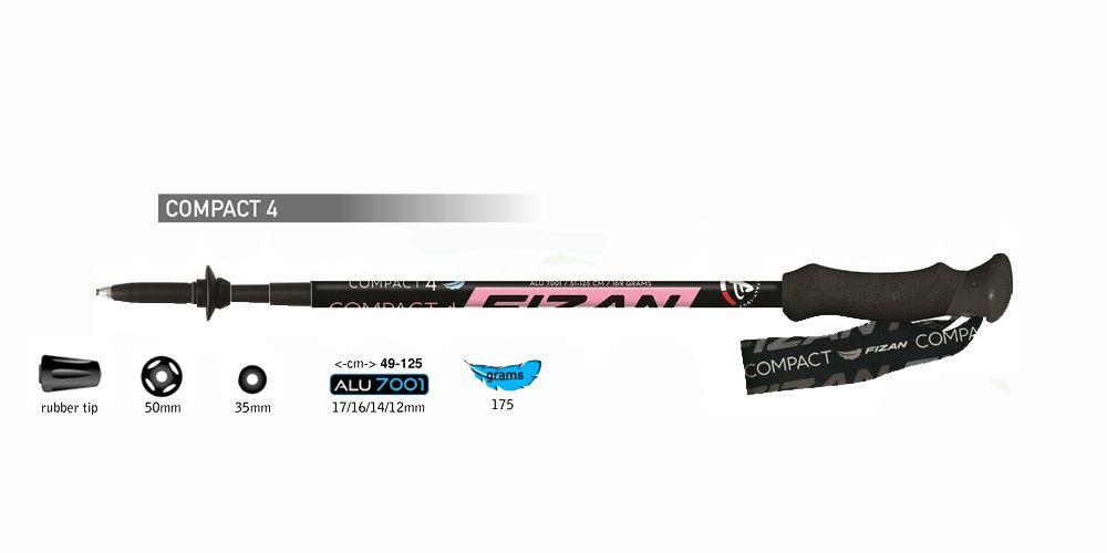 Outdoorix - Fizan Compact 4 pink