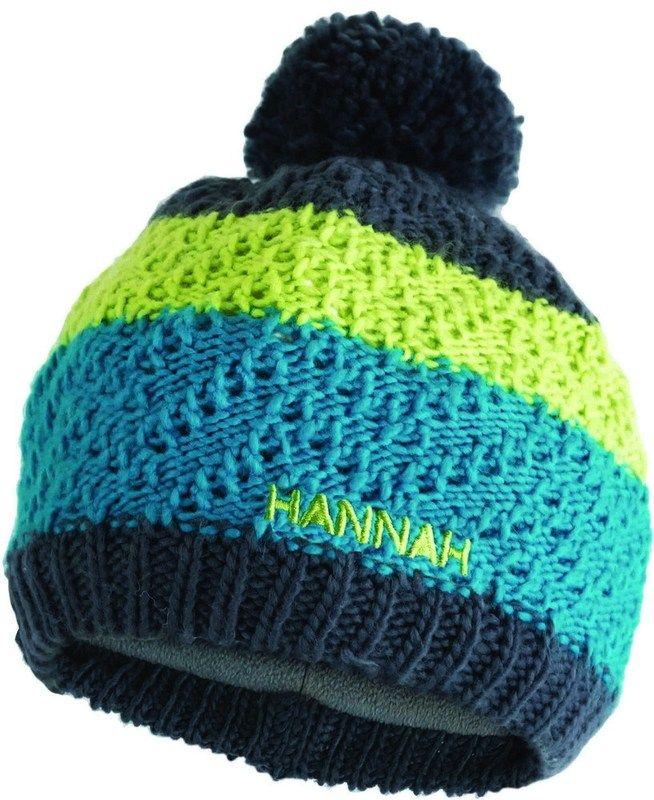 Outdoorix - Hannah Bobble JR Tile blue/lime green čepice