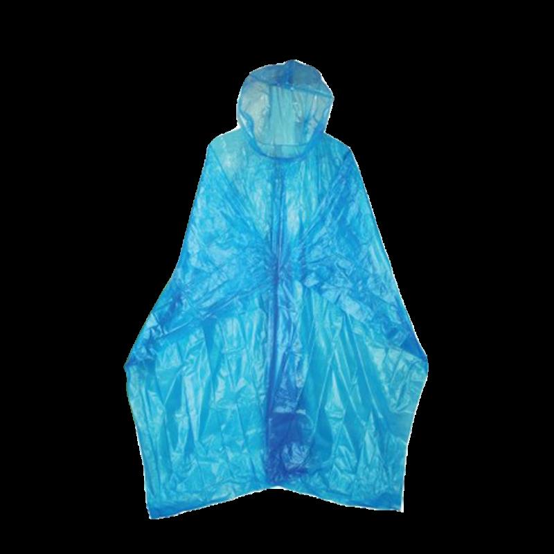 Outdoorix - HIGHLANDER Pláštěnka Emergency LDPE pončo modrá
