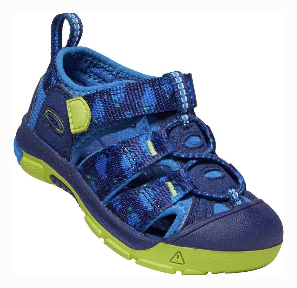 Outdoorix - KEEN Newport H2 Junior Blue Depths / Chartreuse Dětský sandál