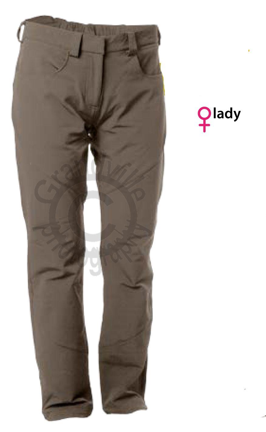 Outdoorix - Warmpeace Flea lady sand/sand dámské kalhoty