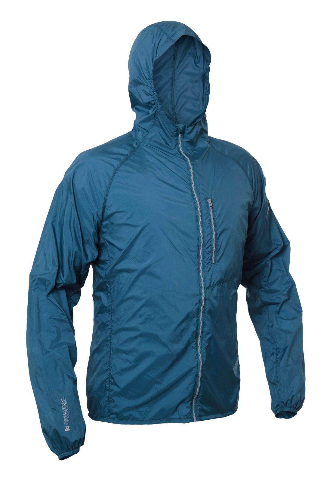 Outdoorix - Warmpeace Forte moroccan blue ultralehká bunda celopropínací Unisex