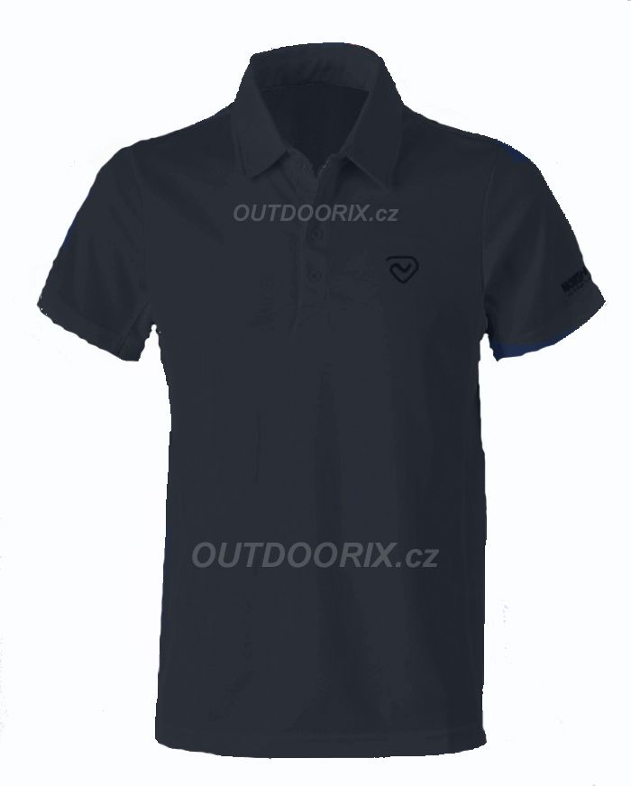 Outdoorix - Northland Cooldry Gregor polo shirt black