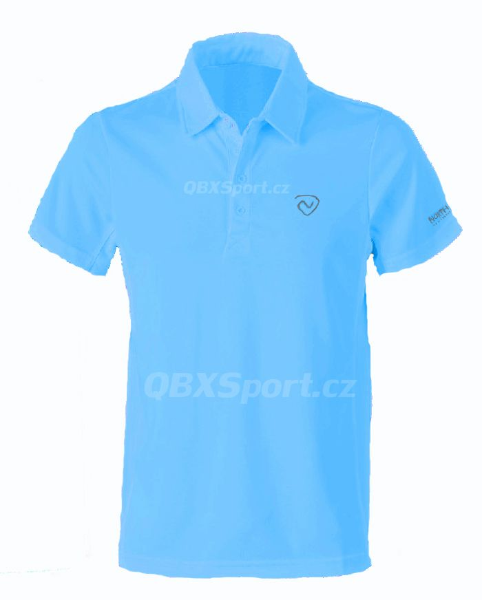 Outdoorix - Northland Cooldry Gregor polo shirt azure blue