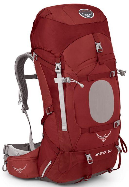 Outdoorix - Osprey Aether 60 III Arroyo Red