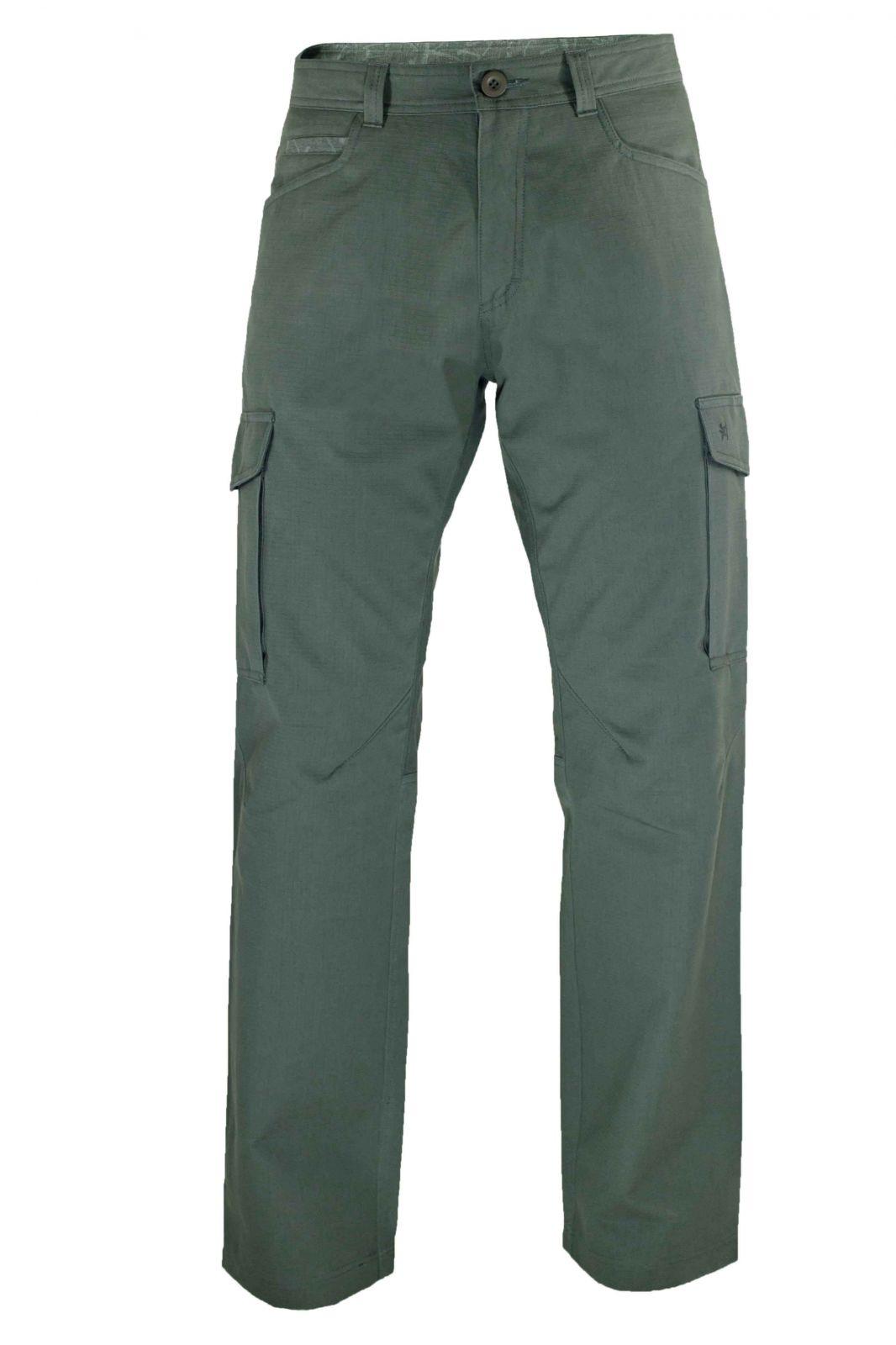 Outdoorix - Warmpeace Travers grey pánské kalhoty z vyšší gramáže