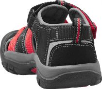 Outdoorix - KEEN Newport H2 Junior Black/Racing red multi