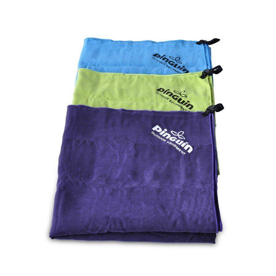 Outdoorix - Pinguin ručník 40x80 violet rychleschnoucí ručník