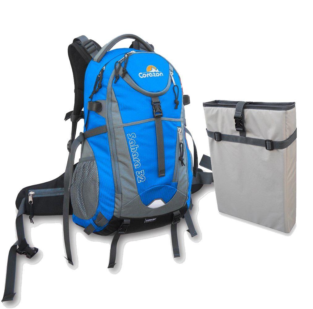 Outdoorix - Corazon Sahara 32 modrá + pouzdro na notebook