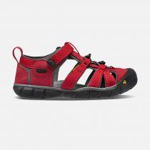 Outdoorix - KEEN Seacamp II CNX Junior Racing Red / Gargoyle Dětský sandál