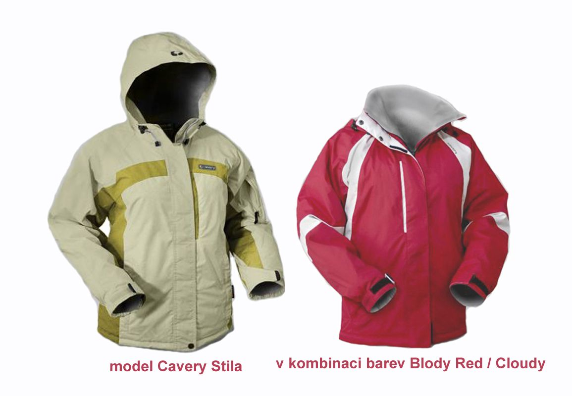 Outdoorix - Cavery Stila Blody Red / Cloudy Hannah