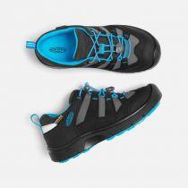 Outdoorix - KEEN Hikeport WP JR Black / Blue Jewel